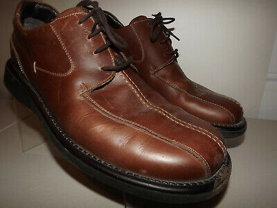 Reaction By Kenneth Cole Made In Italy  Mens Brown Leather Shoes Us 13M T893