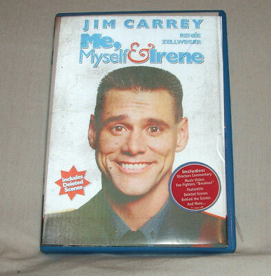 Me, Myself & Irene - comedy film DVD - Jim Carrey, Rene Zellweger, Farrelly Bros