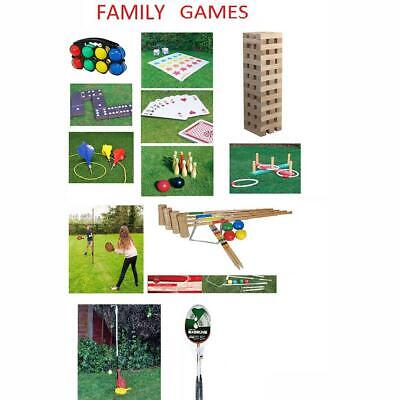 Traditional Children & Family Outdoor Games
