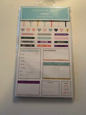 Creative You Christian Religious Planner / Appointment Stickers SII - 20 Sheets