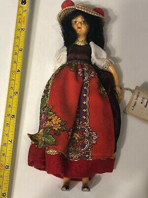 Costume Dolls By Peggy Nisbet Made In England, 8 Tall, Nice!!!