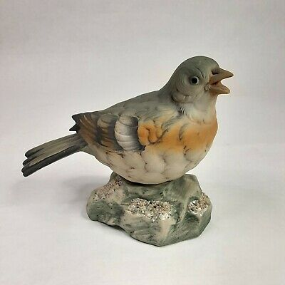 "Vtg Ceramic Robin Female Figurine 5"" Tall"