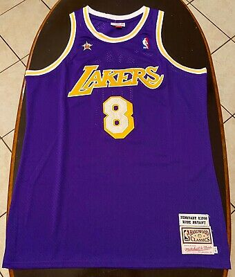 Kobe Bryant #8 Los Angeles Lakers Throwback ALL-Star Jersey S-2XL