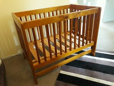 Wooden Sturdy Baby Cot