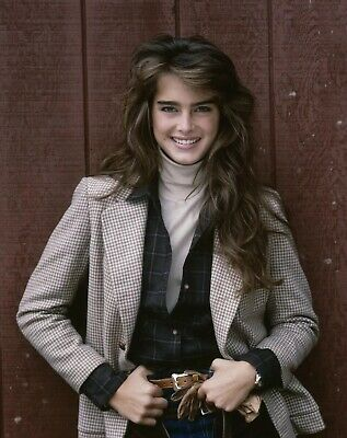 brooke shields Photograph (8x10) photo 80s Icon Actress Picture Print