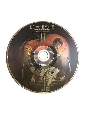 Deathnote Original Soundtrack II (CD) - Disc Only - Used - Rare