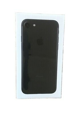 New Sealed Apple iPhone 7 - 32GB - Black Boost Mobile Only A1660