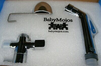 Baby Mojos Diaper Sprayer With Wet Bag And High Quality Stainless Steel Hose