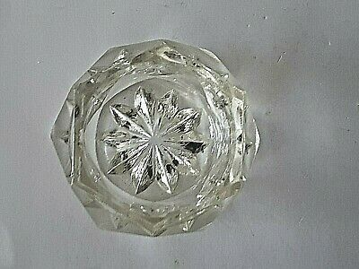 glass inkwell vintage  great condition