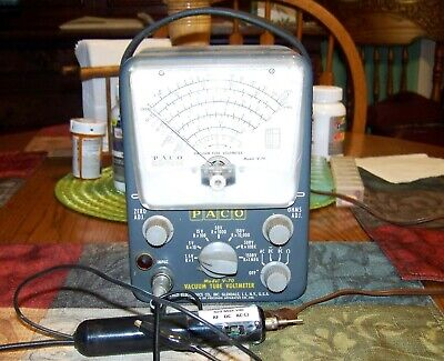 Vintage PACO V-70 VTVM – Totally reconditioned & calibrated, with multi-probe