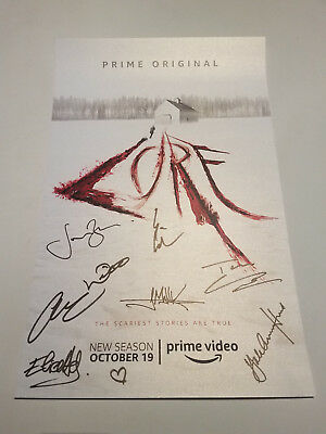 NYCC 2018 Lore Cast Autograph Signed Poster - Amazon Prime Video