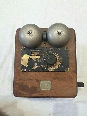 Vintage Telephone  (Exchange Box)