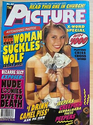 Vintage The Picture Magazine May 1990 No. 88