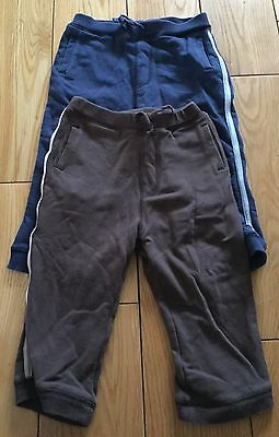 Two Pairs Of Boys Joggers Size 12-18 Months