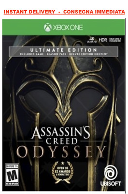 Assassin's creed odyssey ULTIMATE EDITION Xbox One NO CD / NO KEY DIGITALE