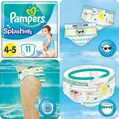 14-18 kg Splashers - x22 Couches-culottes Couches-culottes de Bain Taille 5 Pampers