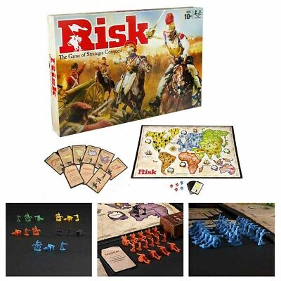 Risk Board Game Hasbro Strategic Fun Family Party Adult Games Gifts Fun