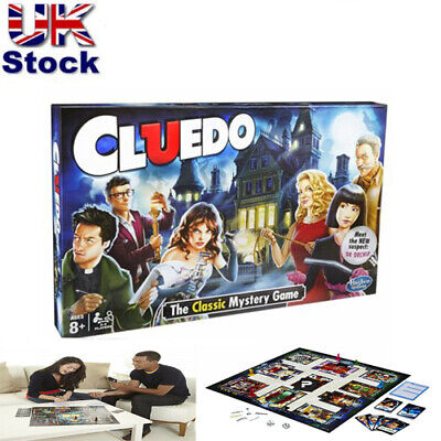 The Classic Mystery Cluedo Board Game Perfect Family Party Game 100%  New Sealed