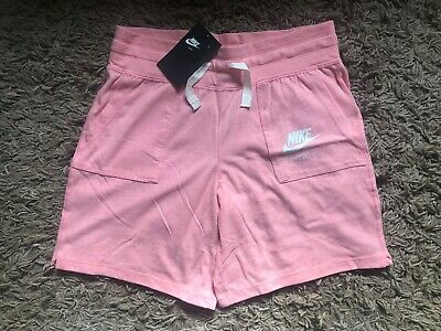 Nike Girls Kids Shorts (Pink) Ages 13-15 Years - BNWT