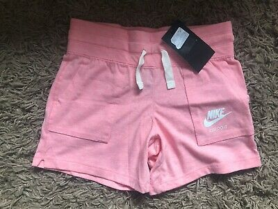Nike Girls Kids Shorts (Pink) Ages 8-10 Years - BNWT