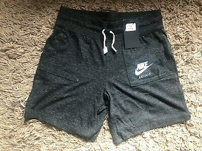 Nike Girls Kids Shorts (Grey) Ages 13-15 Years - BNWT