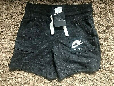 Nike Girls Kids Shorts (Grey) Ages 10-12 Years - BNWT