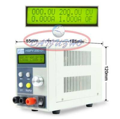 ONE HSPY-200-01 LCD Digital Display 200V Adjustable Programmable DC Power Supply