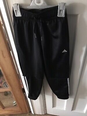 Adidas Girls Tracksuit Bottoms Age 7-8