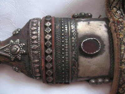 Jambiya Antique.Yemen.Arabic knife.Dagger from the 19th century.Unique.Bedouin
