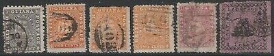 British Guiana, Collection, From 1860 Mh And Used Good To Fine