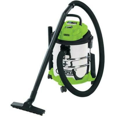 Draper 20L Wet And Dry Vacuum Cleaner With Stainless Steel Tank (1250W) 35569