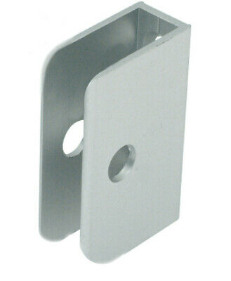 Board Partition Shelf Channel Bracket 'U' Shaped SILVER Anodised  Pack Of 2