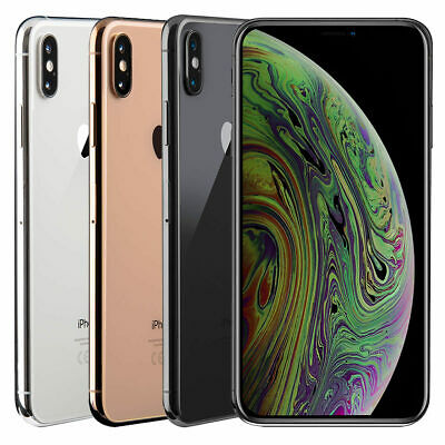 Apple iPhone XS Max 64/256GB Refurbished All Colours (Unlocked) Smartphone