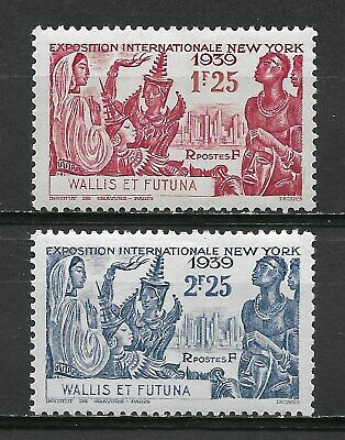 French WALLIS and FUTUNA  1939. Complete Series 2 stamps *     (7138)