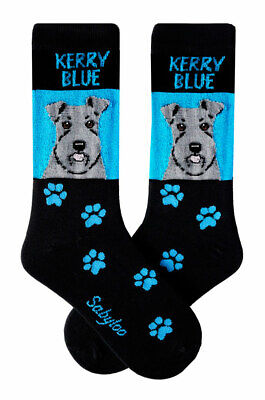 Kerry Blue Terrier Crew Socks Unisex