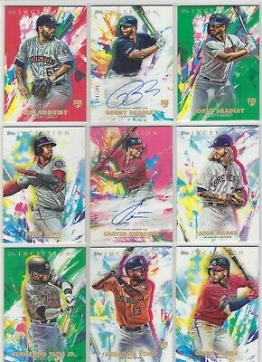 2020 Topps Inception - Rookies, Autos, #d, Parallels - You Pick Your Cards