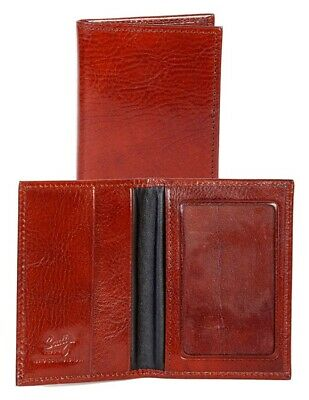 Scully Western Wallet Mens Exotic Print Leather ID Card Case 3032-0