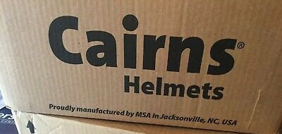 CAIRNS FIREFIGHTING HELMET FIRE RESCUE CAIRNS METRO 660c WITH FACE SHIELD (RED)