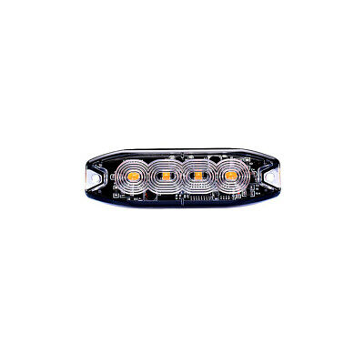 LAP Electrical 4 LED Recovery Emergency Flashing Amber Strobe Grille Light Head