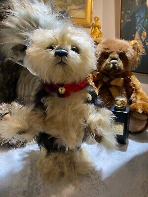 "Jimmy Chew Charlie Bear Puppydog, Isabelle 11"" 190 of 220 edition"