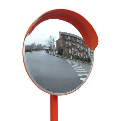 45cm Convex Safety Mirror Traffic 450mm Security Shop Drive Blind Hidden Road UK