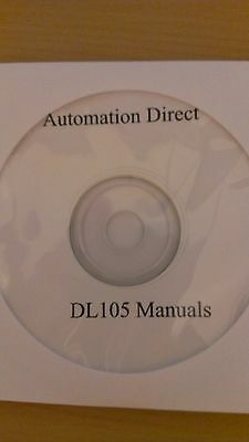 Programming Software and Manuals for Automation Direct DL105