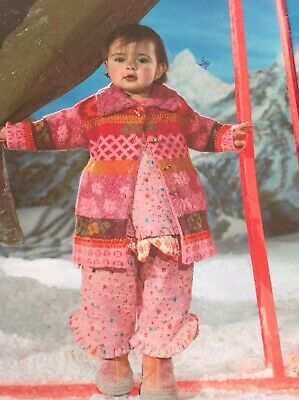 Oilily Designer Girls 3piece Stunning Outfit Age 2-3 Years Cardigan 3-4 Gorgeous