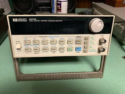 HP/Agilent 33120A Function / Arbitrary Waveform Generator, 15 MHz