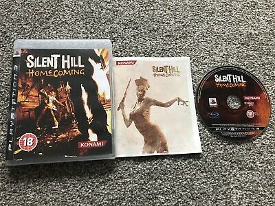 Silent Hill Homecoming Sony Playstation 3 Ps3 Game With Manual Official Pal Vgc