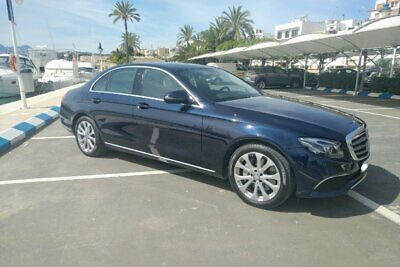 LHD Mercedes E350d Exclusive Left Hand Drive in Spain
