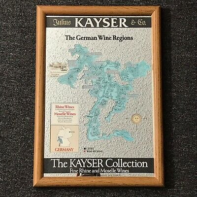 Vintage Keyser Collection German Wine Region Mirror