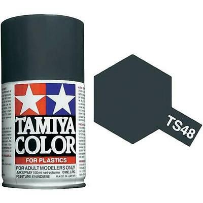 TAMIYA COLORE SPRAY PER PLASTICA GUNSHIP GREY GRIGIO 100ml  ART TS48