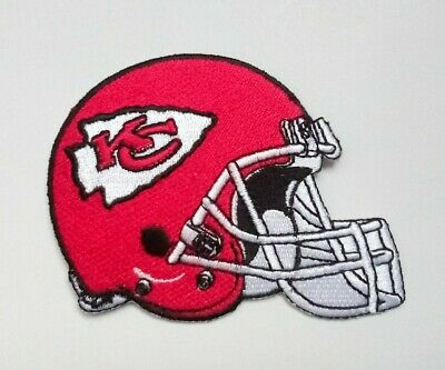 """Kansas City Chiefs Embroidered 3.5"""" Iron On Patch"""