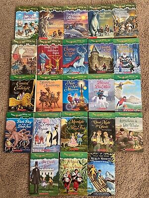 Lot Magic Tree House 23 Books Soft Back